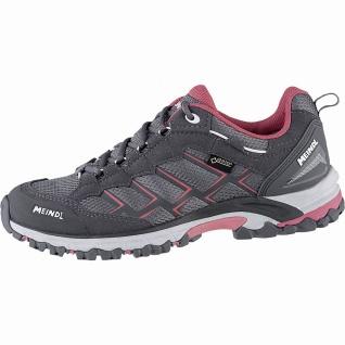 Meindl Caribe Lady GTX Damen Velour/Mesh Outdoor Schuhe anthrazit, herausnehm...