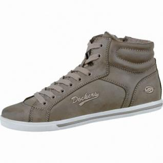 Dockers modische Damen Winter Synthetik Sneakers hellbraun, leichtes Warmfutter, Sneakerlaufsohle, 1637210/37