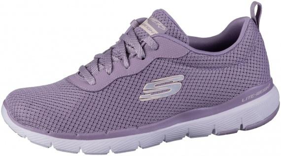 SKECHERS Flex-Appeal 3.0 Damen Mesh Sneakers purple, Air Cooled Memory Foam F...