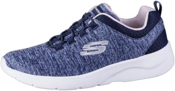 SKECHERS Dynamight 2.0 Damen Jersey Sneakers navy, Memory Foam Fußbett