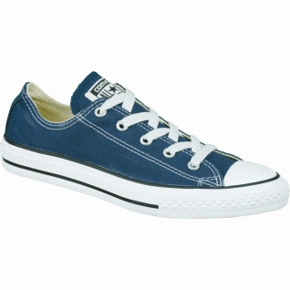 Converse Chuck Taylor All Star Low Mädchen Canvas Sneaker blau