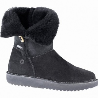 Ricosta Uma Mädchen Winter Leder Tex Stiefel schwarz, mittlere Weite, 17 cm Schaft, Warmfutter, warmes Fußbett, 3741260/36