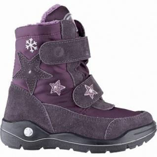 Ricosta Gloria Mädchen Winter Leder Tex Stiefel dolcetto, mittlere Weite, Warmfutter, angerautes Fußbett, 3741254/30