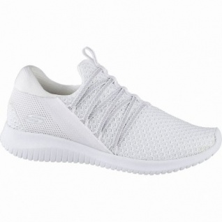 Skechers Ultra Flex coole Damen Mesh Sneakers white, Skechers Air-Cooled-Memory-Foam-Fußbett, 4142104/36