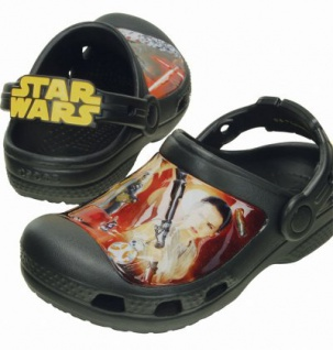 Crocs CC Star Wars Clog Kids Jungen Crocs black multi, verstellbarer Fersenriemen, 4336101/32-33 - Vorschau 2