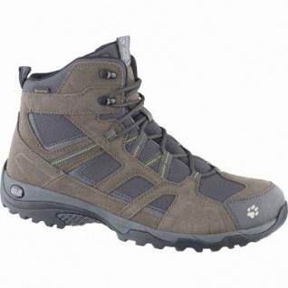 Jack Wolfskin Vojo Hike Mid Texapore Men Herren Mesh Outdoor Boots green, atmungsaktives Polyesterfutter, 4439144