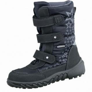 Richter Mädchen Winter Sympatex Boots black, mittlere Weite, molliges Warmfutter, warmes Fußbett, 3737184