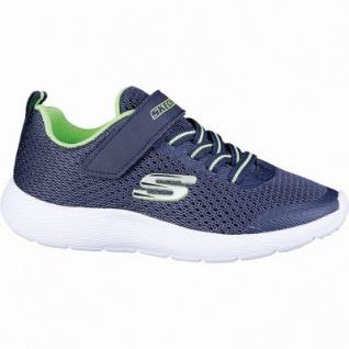 Skechers Dyne-Lite coole Jungen Mesh Sneakers navy, Skechers Memory Foam Fußbett, 4042114/27