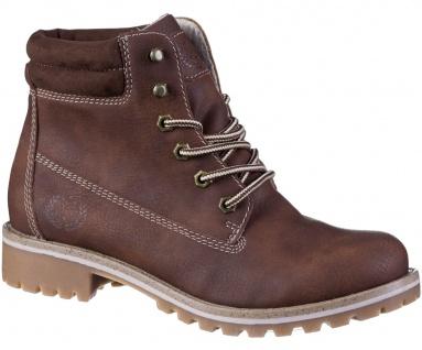 JANE KLAIN Damen Synthetik Boots brown, Fleecefutter, weiche Super Soft Decks... - Vorschau 1