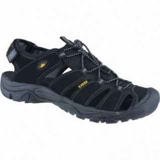 Lico Sierra Herren Nylon Trekking Schuhe schwarz, Textilfutter, auswechselbare Textil Einlegesohle, 4440121/38