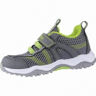 Richter modische Jungen Synthetik Sneakers ash, Leder Fußbett, 3340173