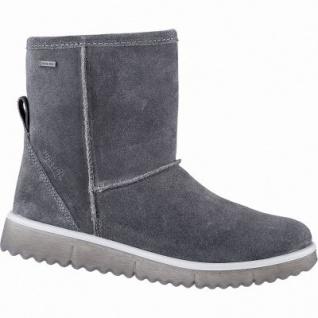 Superfit Mädchen Winter Leder Tex Boots grau, 13 cm Schaft, Warmfutter, warmes Fußbett, mittlere Weite, 3741145/36