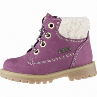 Richter coole Mädchen Leder Tex Boots burgundy, mittlere Weite, Warmfutter, warmes Fußbett, 3241126/25