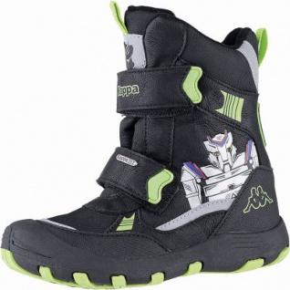 Kapppa Robot Tex K Jungen Synthetik Winter Tex Boots black, 12 cm Schaft, Warmfutter, warmes Fußbett, 3741124/26