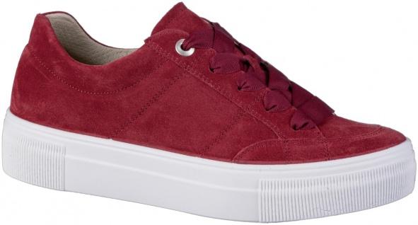 LEGERO Damen Leder Sneakers marte, Comfort Weite G, Leder Fußbett