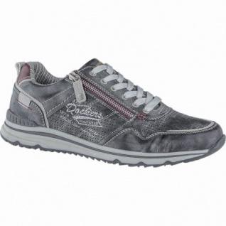 Dockers coole Herren Synthetik Sneakers schwarz, Dockers Laufsohle, herausnehmbare Einlegesohle, 2140168/46