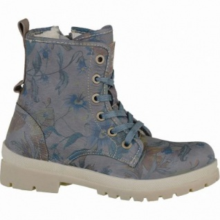 Mustang coole Mädchen Synthetik Winter Boots dunkelgrau, molliges Warmfutter, warme Decksohle, 3737122/36