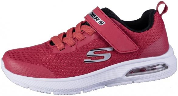 SKECHERS Dyna-Air Mädchen Mesh Sportschuhe red, Skechers Fußbett, Skechers La...