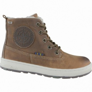 Lurchi Doug Jungen Winter Leder Tex Boots tan, Warmfutter, Fußbett, breitere Passform, 3739119/38