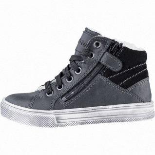 Richter Jungen Winter Boots black, mittlere Weite, molliges Warmfutter, warmes Fußbett, 3741236/31