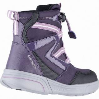 Geox Mädchen Winter Synthetik Amphibiox Boots violet, 11 cm Schaft, molliges Warmfutter, herausnehmbare Einlegesohle, 3741110/28 - Vorschau 2