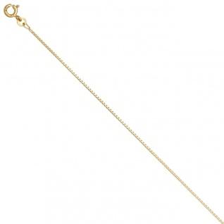 Venezianerkette 333 Gelbgold 1, 0 mm 42 cm Gold Kette Halskette Goldkette