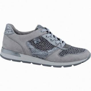 Soft Line trendige Damen Synthetik Sneakers graphit, Extra Weite H, Soft Line-Fußbett, 1337101