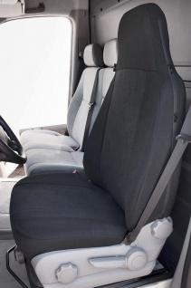 Universal Polyester Transporter Reißverschluss Sitzbezug Highback anthrazit w...