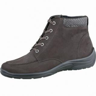 Waldläufer Hesna 14 Damen Leder Stiefel nuba, Weite H, Warmfutter, lose Einlagen, angerautes Fußbett, 17371225.0