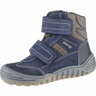 Richter Jungen Winter Leder Tex Boots atlantic, Warmfutter, warmes Fußbett, mittlere Weite, 3739201/31