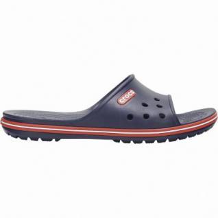Crocs Crocband II Slide Damen, Herren Pantoletten navy, Croslite Foam-Fußbett, 4339101/42-43