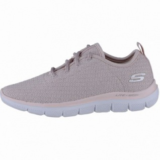 Skechers Skech Appeal 2.0 coole Mädchen Strick Sneakers pink, Skechers Air Cooled Memory Foam-Fußbett, 4240206