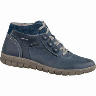 Josef Seibel Steffi 13 modische Damen Leder Winter Boots blau, Top-Dry-Tex, Warmfutter, Fußbett, 1639301/37