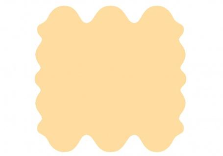 exklusive Lammfell Fellteppiche beige gefärbt, 6 Einzelfelle, waschbar, Haarl...
