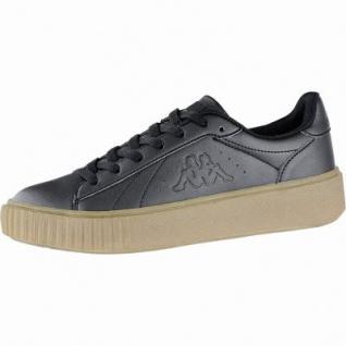 Kappa Meseta PF RB coole Damen Synthetik Sneakers black, angesagte Plateau Laufsohle, 4240115/36