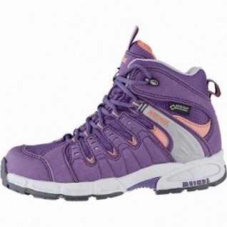 Meindl Snap Junior Mid GTX Mädchen Trekking Boots viola, herausnehmbares Fußbett, 4441119/32