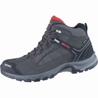 Meindl Journey Mid GTX Herren Leder Mesh Outdoor Schuhe anthrazit, Air-Active...