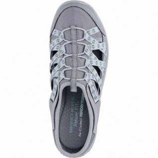 Skechers Flex-Appeal 3.0 coole Damen Mesh Sneakers black, Skechers Air Cooled Memory Foam-Fußbett, 4142125/36 - Vorschau 2