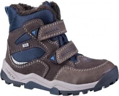 LURCHI Timo Jungen Winter Leder Boots brown, mittlere Weite, Tex Ausstattung