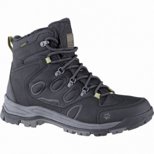 Jack Wolfskin Cold Terrain Texapore Mid Men Herren Synthetik Outdoor Boots black, Fleecefutter, bis -20 Grad, 4441176