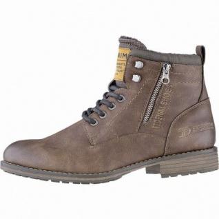 TOM TAILOR sportliche Herren Leder Imitat Winter Boots rust, 12 cm Schaft, molliges Warmfutter, warmes Fußbett, 2541118/43