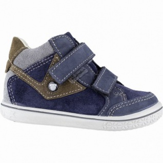 Pepino Kimo Jungen Leder Tex Boots nautic, Lederfutter, Leder Fußbett, mittlere Weite, 3041103/22