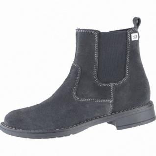 Richter Mädchen Leder Winter Boots steel, Warmfutter, warmes Fußbett, mittlere Weite, 3739194/38