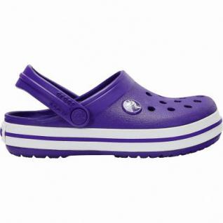 Crocs Crocband Clog Kids Mädchen, Jungen Crocs ultraviolet, anatomisches Fußbett, Belüftungsöffnungen, 4340120/32-33