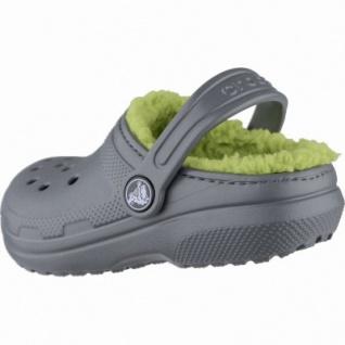 Crocs Classic Lined Clogs Kids Jungen Winter Crocs grey, Warmfutter, warmes Fußbett, 4339106/27-28 - Vorschau 2