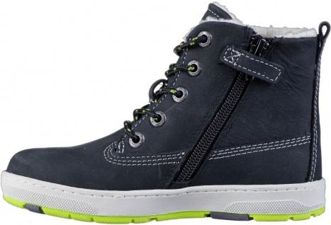 LURCHI Doug Jungen Winter Leder Boots black, breitere Passform, Tex Ausstattung - Vorschau 3
