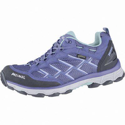 Meindl Activo Lady GTX Damen Velour-Mesh Trekking Schuhe jeans, Air-Active-Wellness-Sport-Fußbett, 4440112 jeans mint