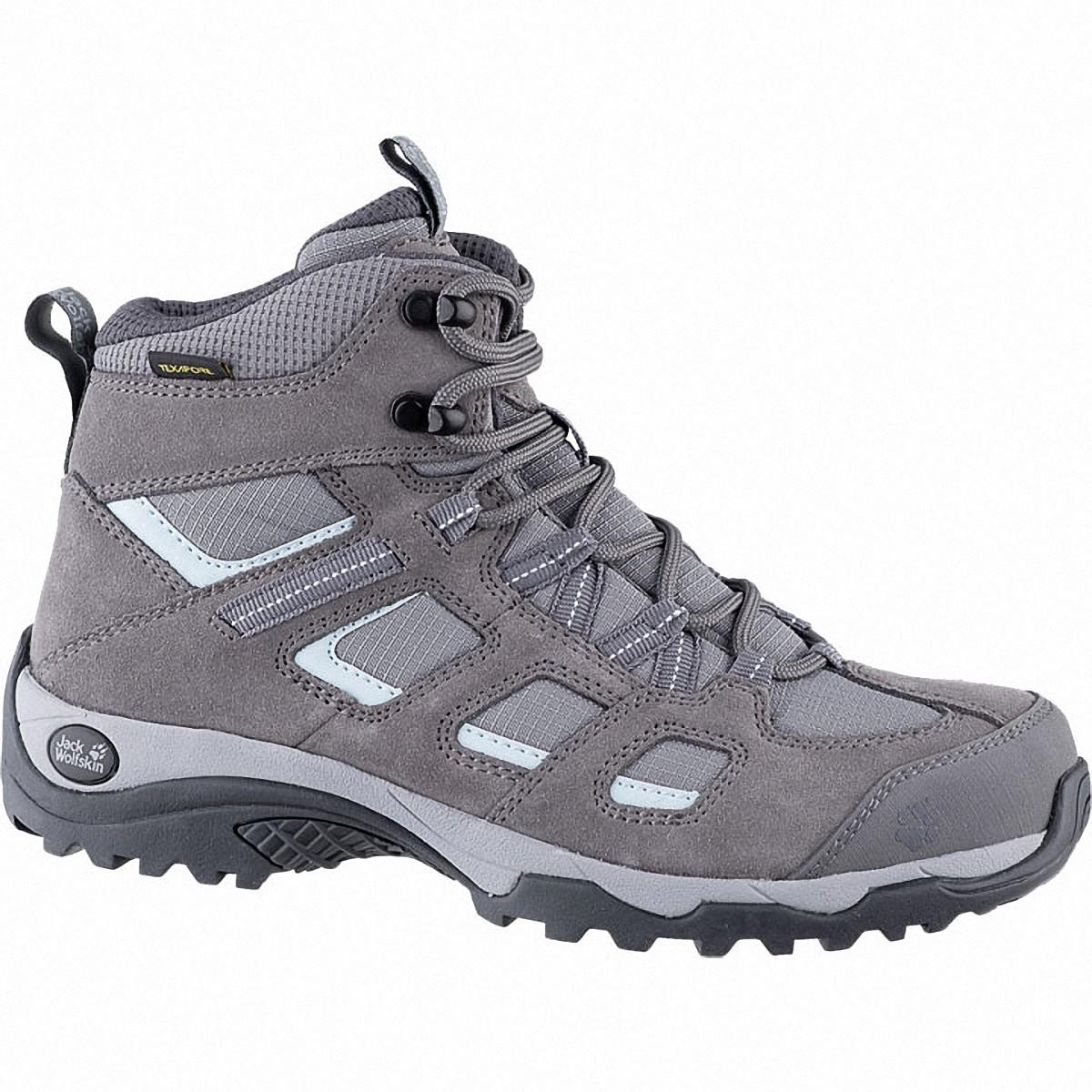 Jack Wolfskin Vojo Hike 2 Texapore Mid Women Damen Leder Outdoor Schuhe tarma