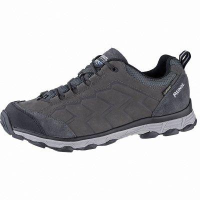 Meindl Savona GTX Herren Leder Outdoor Schuhe anthrazit, Comfort Fit, Air-Active-Fußbett, 4441109 anthrazit