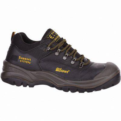 Grauport Asiago S3 Herren Leder Sicherheits Schuhe schwarz, DIN EN 345 S3, 5530103 schwarz schwarz